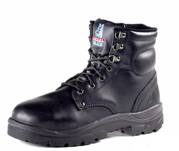 Steel Blue ARGYLE XLarge 145mm High Lace Up Steel Cap Ankle Boot