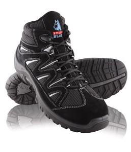 Steel Blue Darwin, Sports style with metal free toe cap