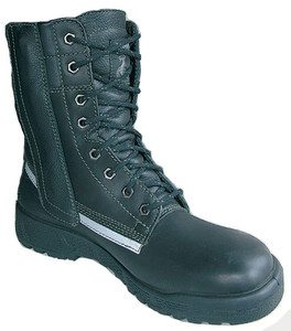Taipan Structural Fire Boots, Waterproof, Steel Cap, Side Zipper, High Leg