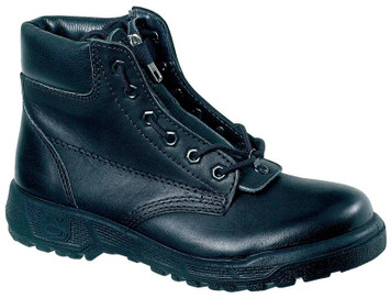 Taipan Fire Boots, Low Cut, Steel Cap, Front Zipper
