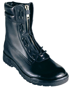 Taipan Structural Fire Boots, High Leg, Lace in Front Zipper, Steel Cap
