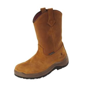 Thomas Cook Ferguson Work Boots Steel Toe, Brown Crazy Horse