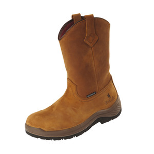 Thomas Cook Ferguson Work Boots Non-Safety, Brown Crazy Horse