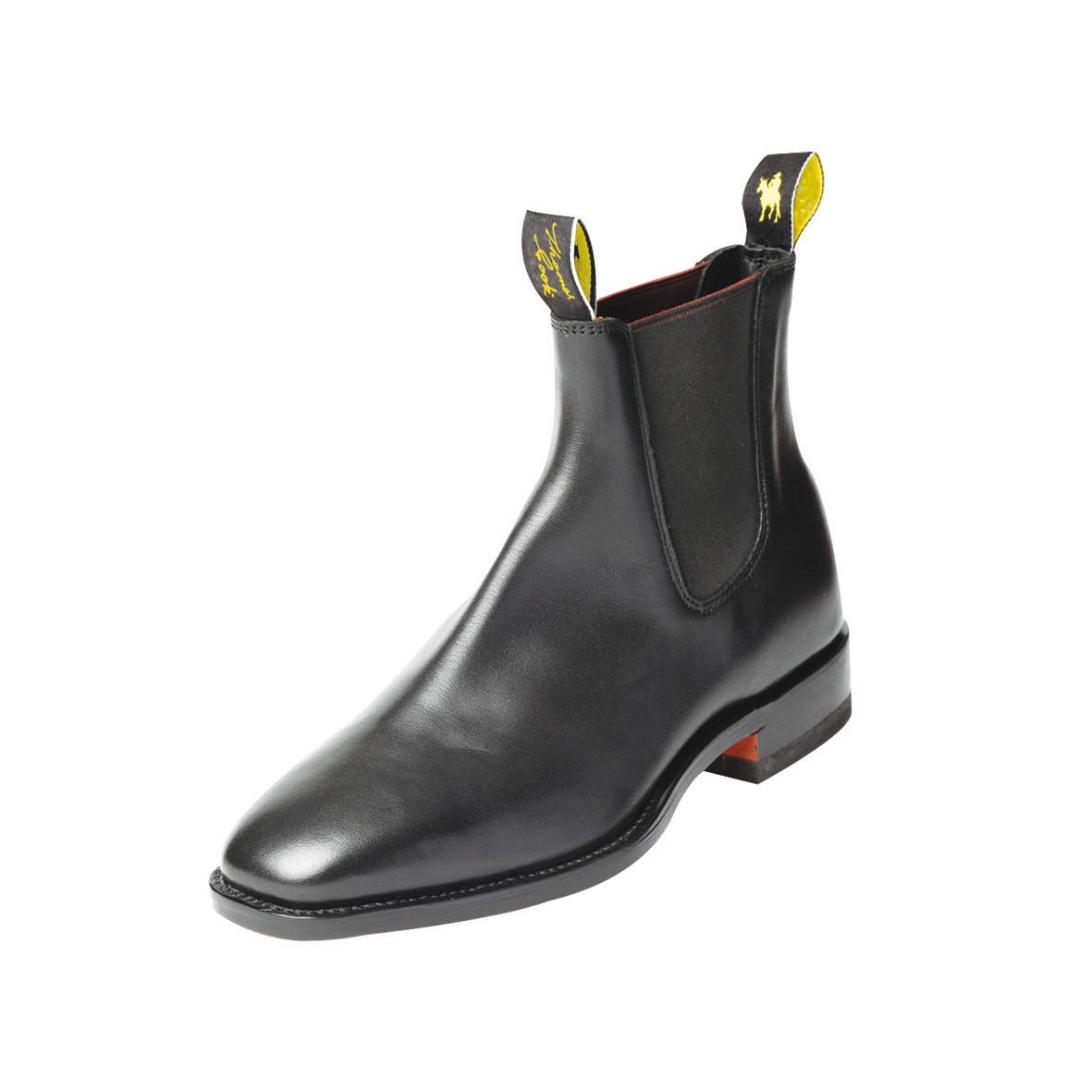 Thomas Cook Trentham Mens Dress Boots Black