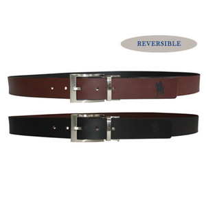 Thomas Cook Reversible Leather Belt, Black-Chocolate
