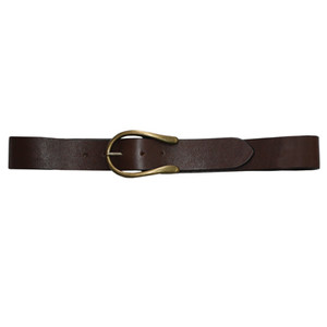 Thomas Cook Womens Horseshoe Belt, Brown