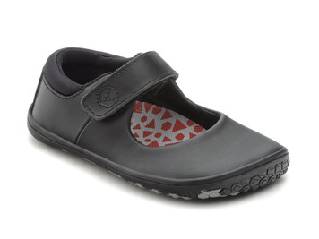Vivo Barefoot Kids Pally Leather Black