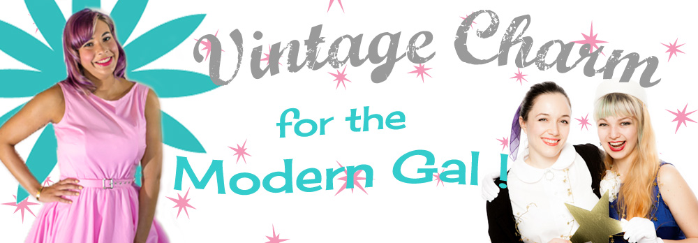 Vintage Charm for the Modern Gal at Hey Viv !