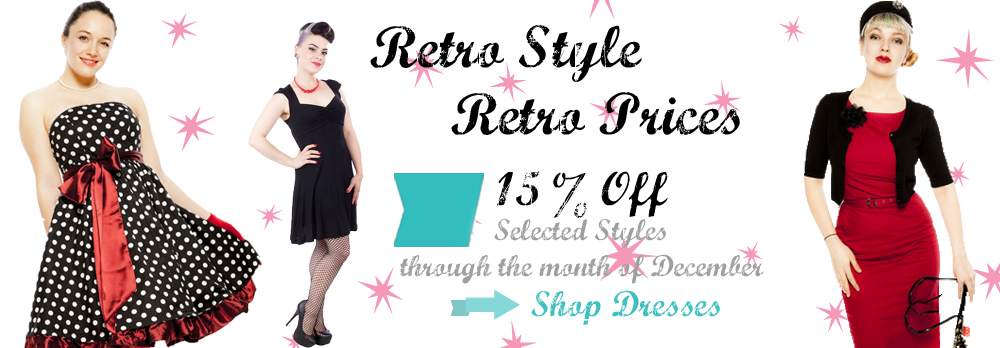 15% Off selected dress styles