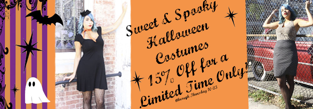Sweet and Spooky 15% Off Sale