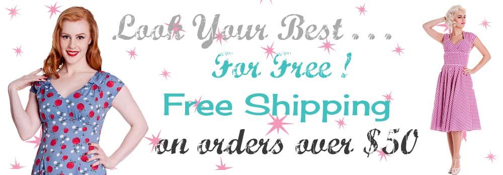 Free Shipping !