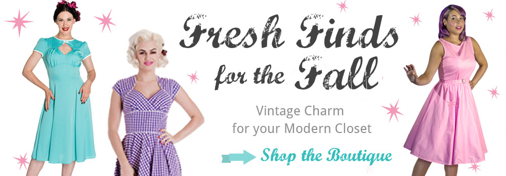 Vintage Charm for your Modern Closet