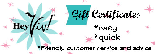 Gift Certificates at Hey Viv ! Retro Clothing