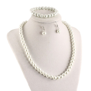 Hey Viv Pearl Necklace Set