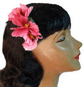 Tropical Flower  Hair Clip