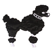 Hey Viv Poodle Applique