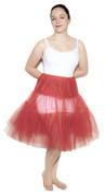 """Red Crinoline (M / L Waist 26"""" - 36"""")"""