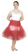 "Red Crinoline (Plus / XL Waist 34"" - 42"")"