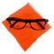 Hey Viv Cat eye Glasses and Orange Scarf