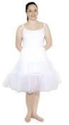 """White Crinoline (M / L Waist 26"""" - 36"""")"""