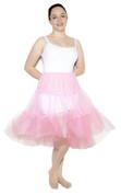 """Pink Crinoline (Plus / XL Waist 34"""" - 42"""")"""