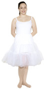 "White Crinoline (Plus / XL Waist 34"" - 42"")"