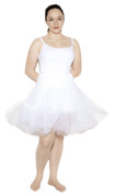 "White Crinoline (Teen / Adult Small Waist 22"" - 28"")"