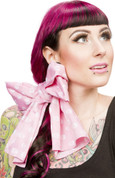 Head Wrap Scarf - Pink Skulls by Sourpuss - Final Sale - 1/2 Price