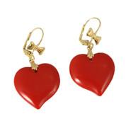 Hey Dollface Heart Earrings