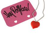 Hey Dollface Heart Pendant Necklace