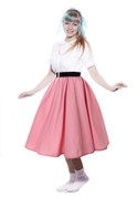 Hey Viv ! Peggy Sue Circle Skirt in Pink