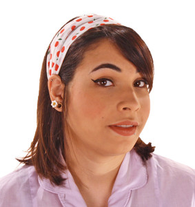 Retro Apple Print Headband