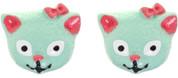 Hey Viv ! Retro Kitty Cat Post Earrings by Sourpuss