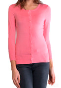 Cardigan Sweater - Classic Button Up  in 6 Colors - Sm to 3XL
