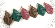 French Leaf Clips by Medusa's Heirloom