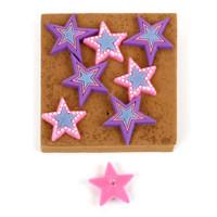 Star push pins