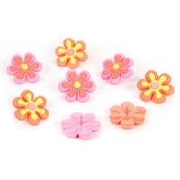 Groovy Flowers push pins