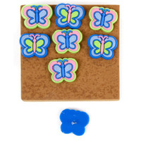 8 Butterfly Push Pins or Tack