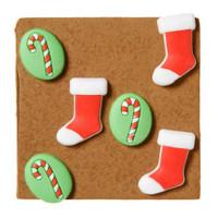 Christmas push pins