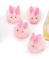 Pink Pom Pom bunnies