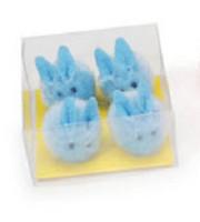 Blue Pom Pom bunnies