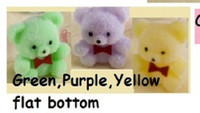 Mixed Purple, Green and Yellow Bears