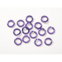 7.25mm Purple Jumprings or Jump Rings