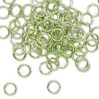 8mm Green Jumprings or Jump Rings