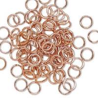 8mm Copper Jumprings or Jump Rings