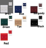 All color variety of earrings cards