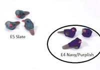 E4 Navy/Purplish