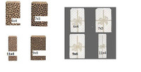 Paper Gift Bags Leopard or Bow print