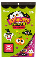 1 Halloween Character Stickers- 370 Skeletons, Ghost, Candy, Haunted House,Bats