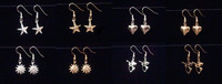 Stars, Hearts, Suns, Angels- Earrings GP or SP